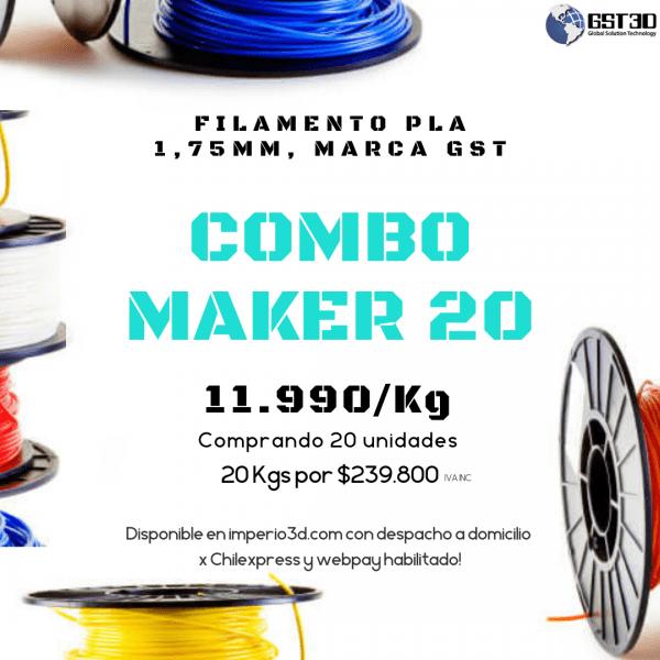 Combo Maker 20 Kg. Imperio 3D